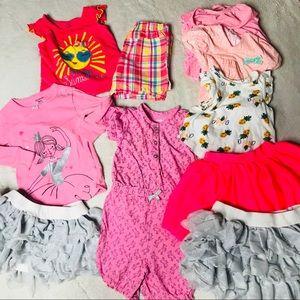 10 Piece Babygirl Clothing Bundle